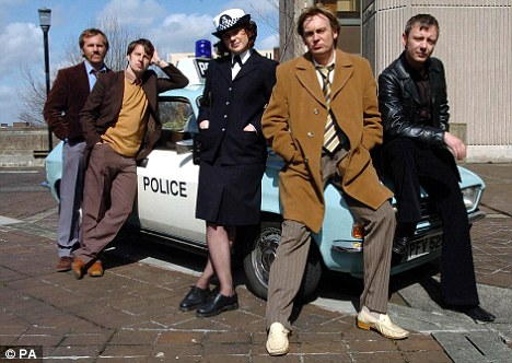 The Greater Manchester Police team in Life on Mars