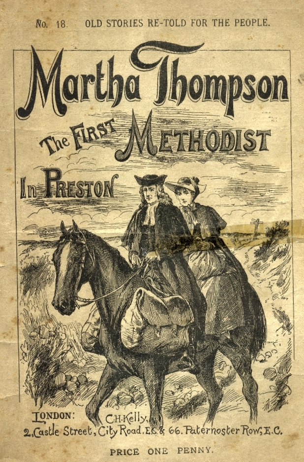 Martha Thompson The First Methodist - Booklet Cover
