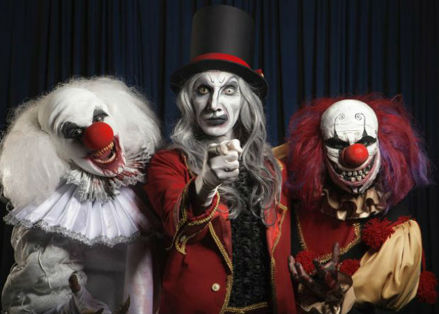 The Circus of Horrors are on day release from Blackburn for Prestfest