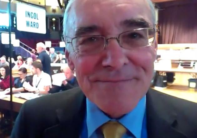 Former Ingol councillor Bill Shannon