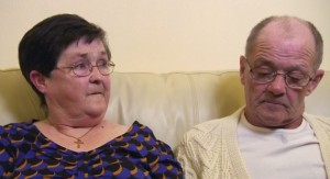 David and Lillian were targeted by a burglar