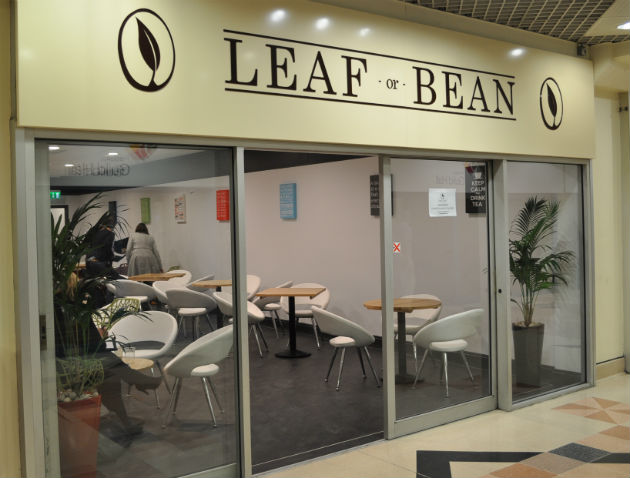 A new coffee shop is open in the Guild Hall Arcade