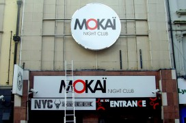 The building in a former life as Mokai