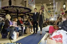 Catwalk inside Fishergate Shopping Centre