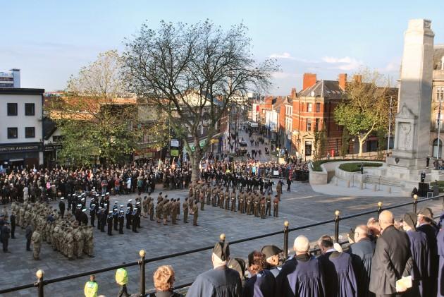 Remembrance Ceremony Preston 9 November 2014 - 11