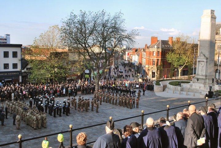 Remembrance Ceremony Preston 9 November 2014 - 11