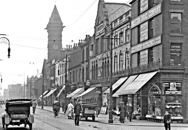 Fishergate, Preston by A.E. Shaw Pic: Preston Digital Archive