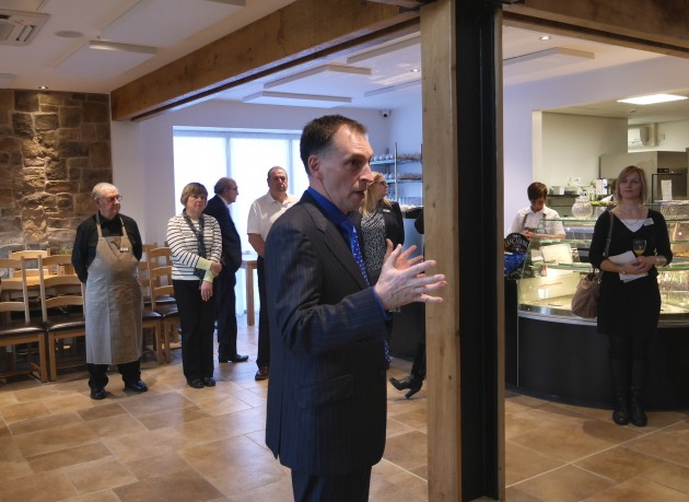 St. Catherine's Mill Cafe Opening Day 18 November 2014 04