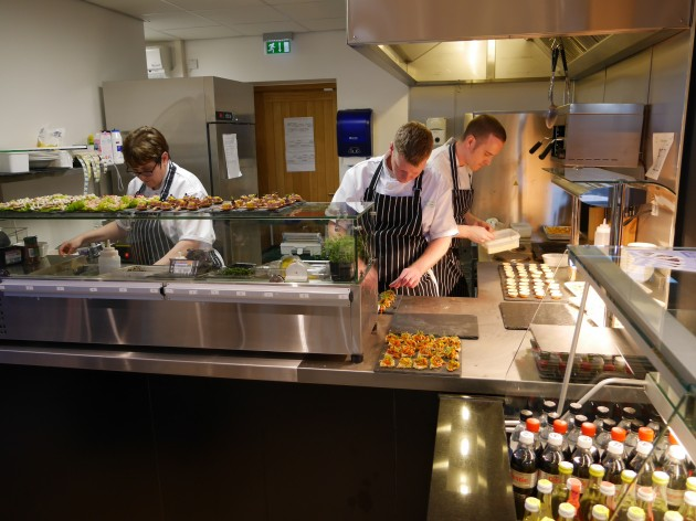 St. Catherine's Mill Cafe Opening Day 18 November 2014 06