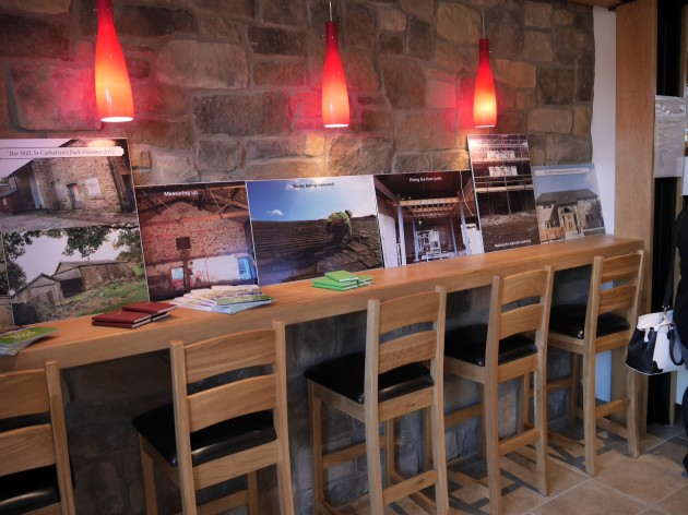 St. Catherine's Mill Cafe Opening Day 18 November 2014 11