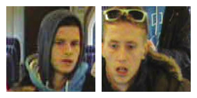 Two men wanted by transport police after the incident at Preston