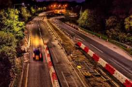 The Penwortham roadworks are to see Golden Way closed overnight