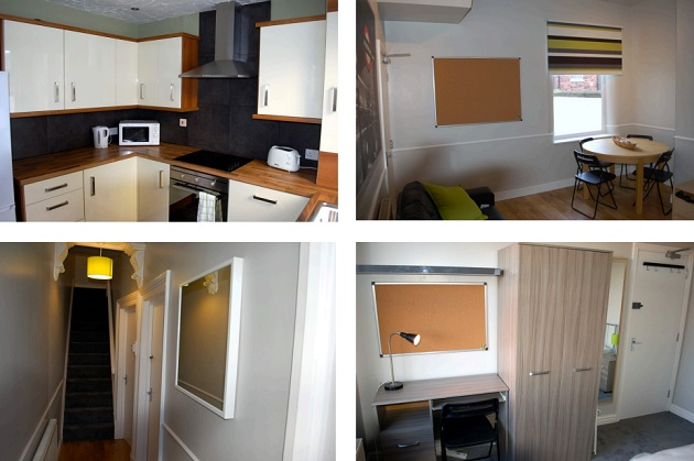 Previous accommodation renovated by the Student Dens group