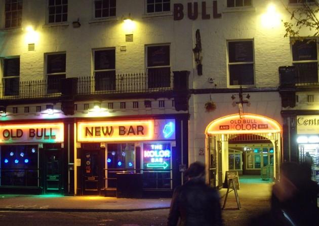 Old Bull New Bar (now Harry's Bar) by Tony Worrall