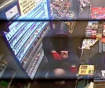 CCTV still released by Lancashire Police shows the attack