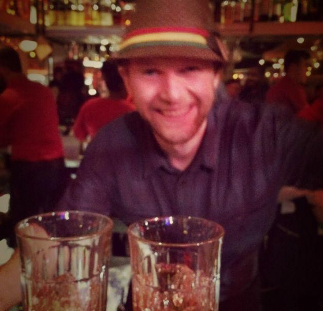 Bar manager Dan