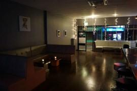 Inside the new bar