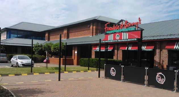 Frankie and Benny's would also be knocked down