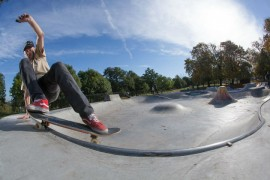 One of Freestyle's previous skate parks