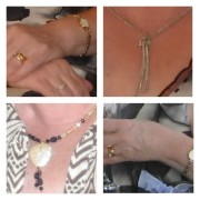 Images released by police show the jewellery