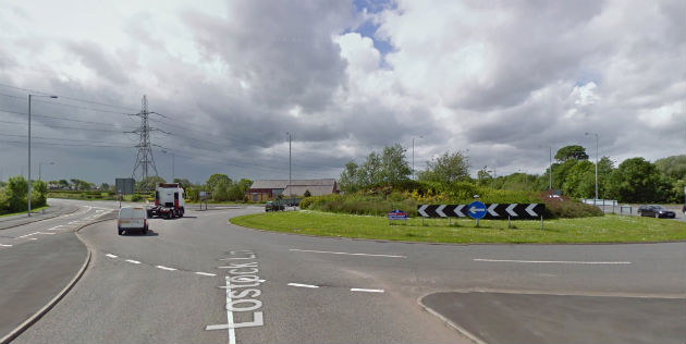 The A582 roundabout is a major pinchpoint on the Preston road network
