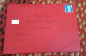 Return to sender? Someone got the wrong address...