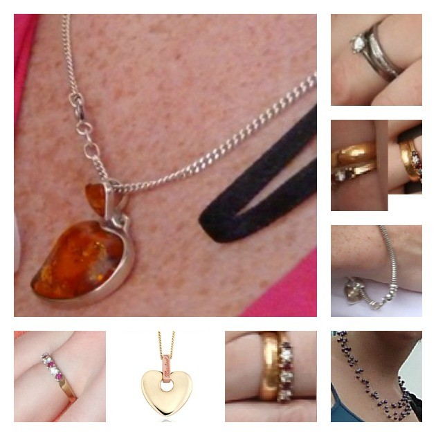 Images of the jewellery released by Preston Police