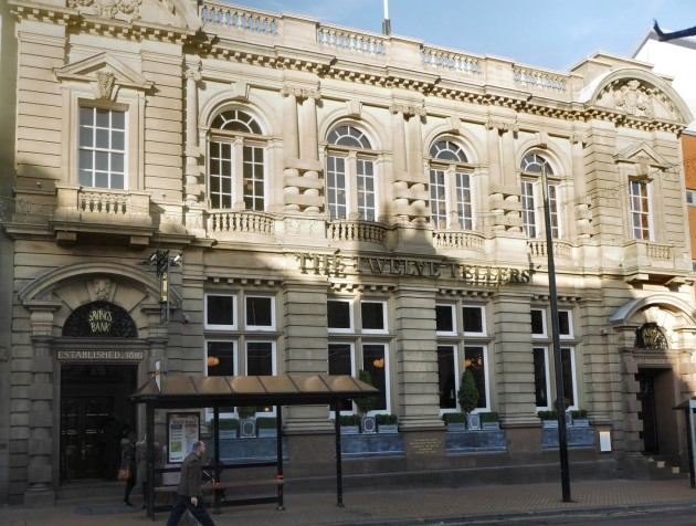 The newly refurbished and restored building of the former Preston Savings Bank which is now Lloyds No.1 'The Twelve Tellers'