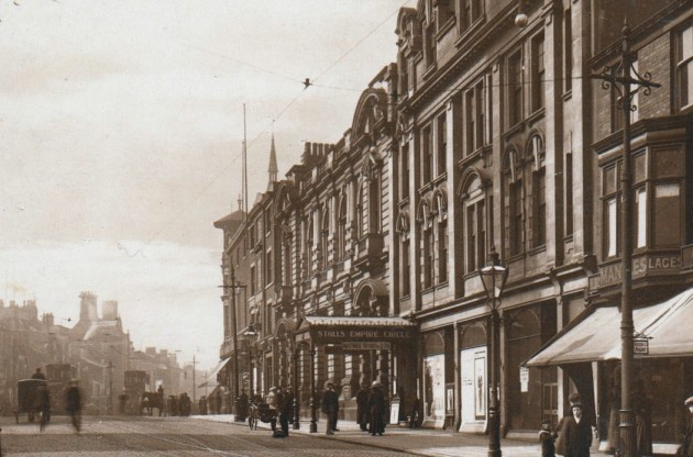 Empire Theatre & Preston Savings Bank, Church Street c.1908 The Preston Savings Bank had only been open three years earlier at this time and would have been in pristine condition as it is now in 2015