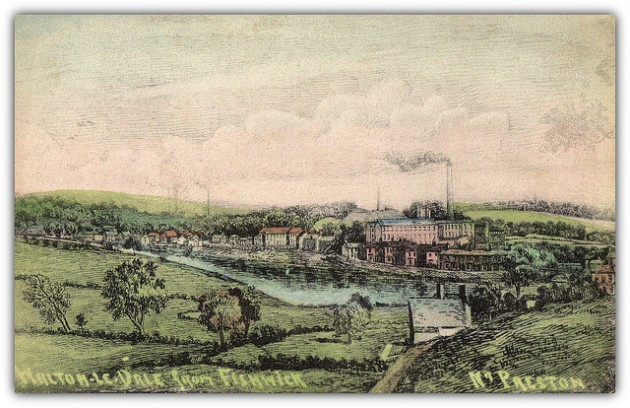 Looking towards Walton-le-Dale from Fishwick Pic: Preston Digital Archive