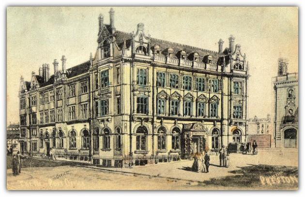 The post office building Pic: Preston Digital Arhive
