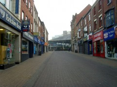Looking up Orchard Street towards the Covered Market Pic: Tony Worrall