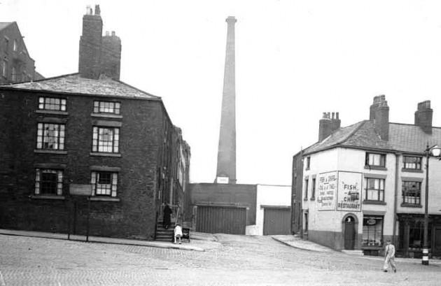 Dale Street, Preston 1939