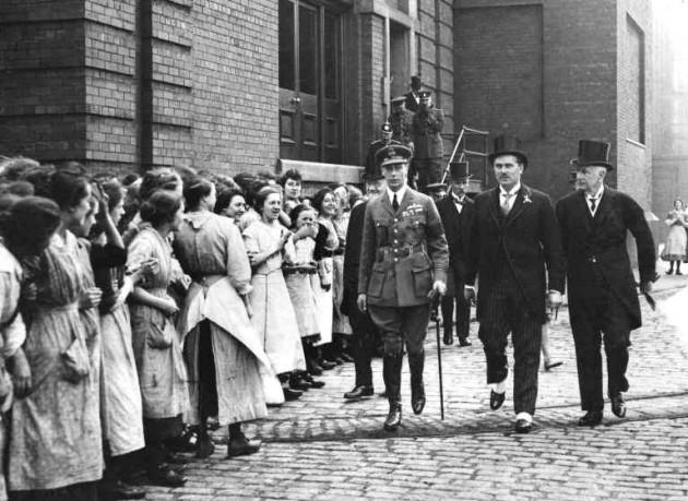 Horrockses, Crewdson & Co. Royal Visit May 20th 1920