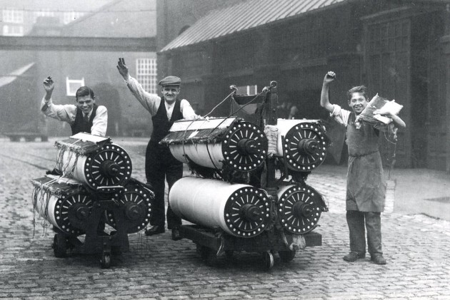 Horrockses Crewdsons Yard Works, Preston 1935