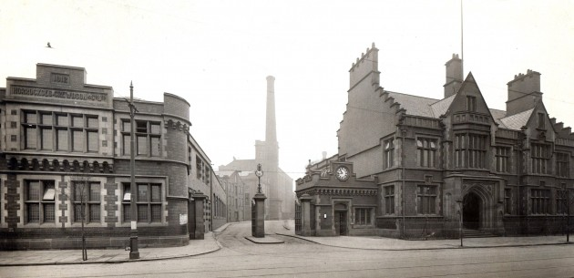 Horrockses Factory Gate, Stanley Street, Preston 1912