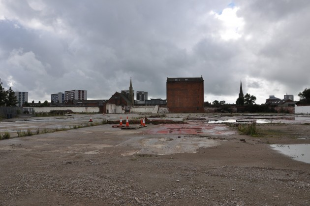 All that remains today of the great Horrockses Yard Works
