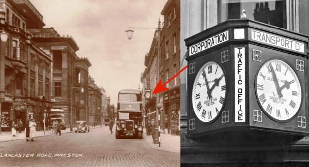 Lancaster Road with PCT dept clock