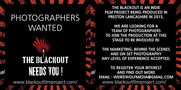 The Blackout Needs You Poster