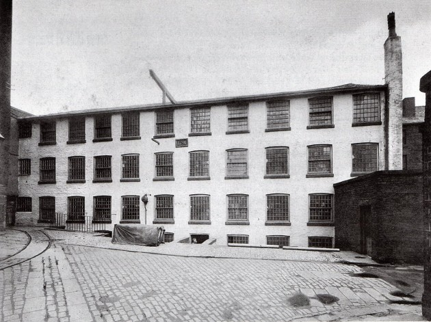 The Yellow Factory on Dale Street