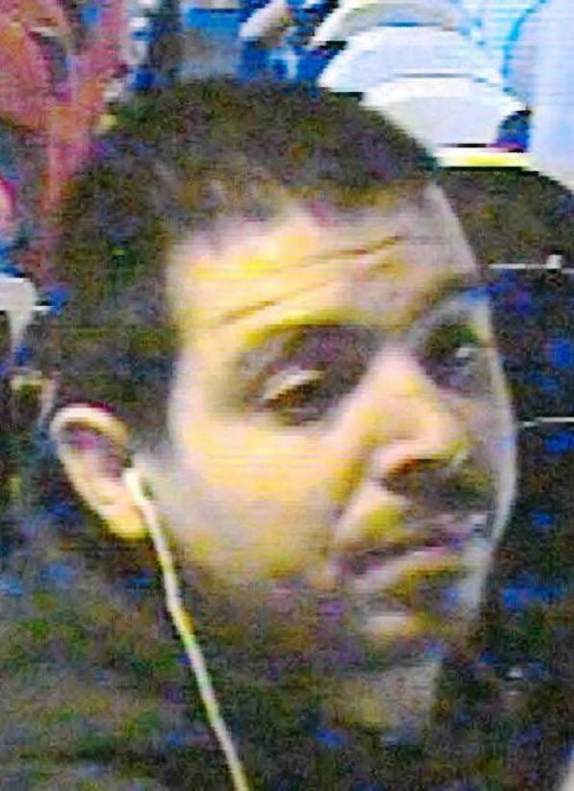 Police believe this man might be able to help them trace the laptop
