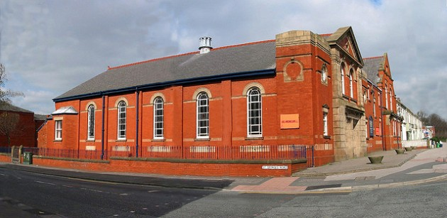 The Methodist Church when it was still in use Pic: George D Thompson