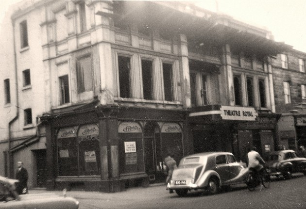 The Theatre Royal in 1956 which became the ABC