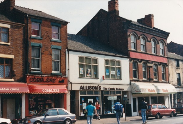 Church Street south side, Preston June 1988