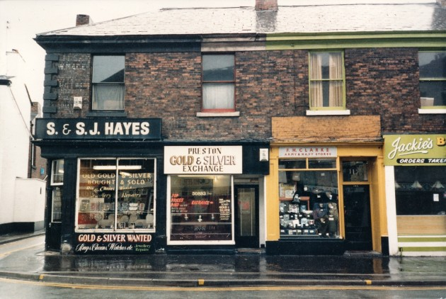 Church Street south side, Preston March 1987