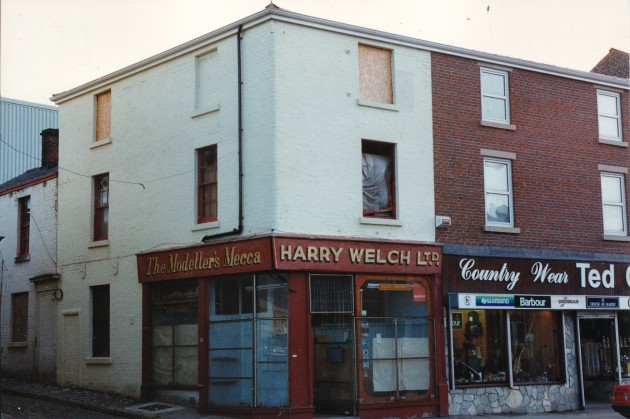 Harry Welch Ltd, Church Street south side, Preston October 1989
