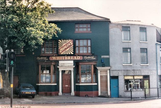 Joplins 2 Stanley Street, Preston August 1988