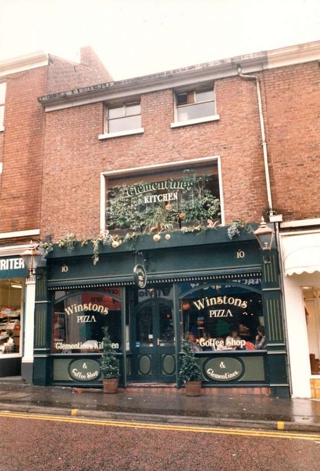 Winstons Pizza Lune Street, Preston July 1988