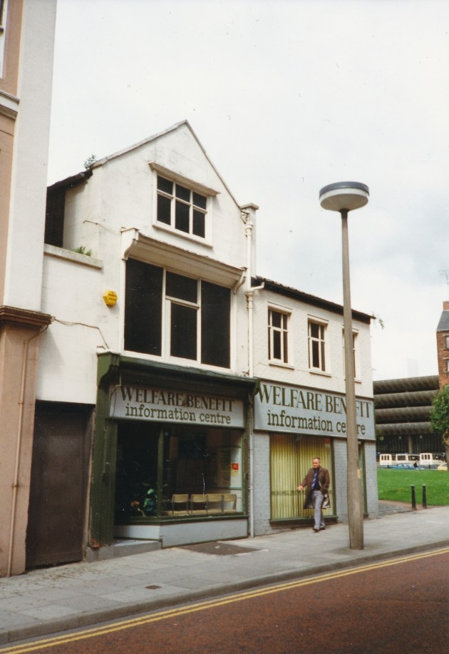 Welfare Benefits Lord Street, Preston Nov 1989