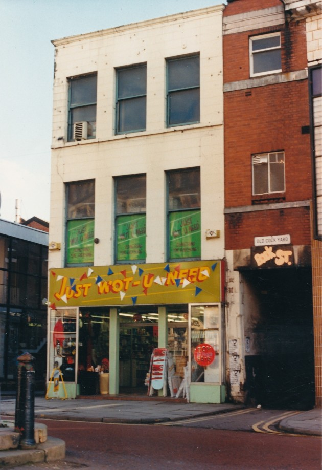 Church Street (south side), Preston August 1988